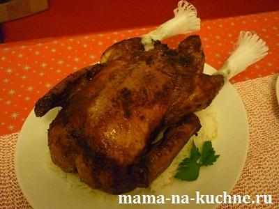recept zapechennaya utka s yablokami mama na kuchne.ru  Рождественский рецепт: запеченная утка с яблоками