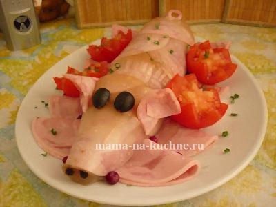 xolodec v butylke porosenok mama na kuchne.ru  Готовим для детей: холодец в бутылке = поросенок :)