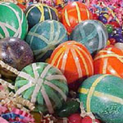 Красим пасхальные яйца 4