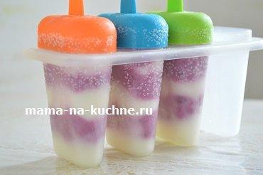 Как приготовить мороженое из йогурта